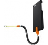 Protectie spate cu sistem de siguranta KENU Highline pentru Apple iPhone 6/6S (Negru)