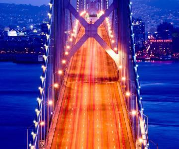 Pe podul Golden Gate, cu David Yu