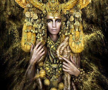 Incredibile portrete din Tara Minunilor, de Kirsty Mitchell