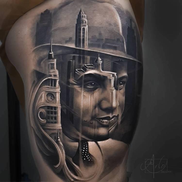 Tatuaje impresionante suprarealiste, de Alro DiCristina - Poza 9