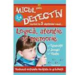 Micul detectiv-Logica atentie si memorie 3-4 ani