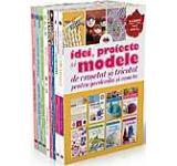 Pachet: Idei proiecte si modele de crosetat si tricotat (8 volume)