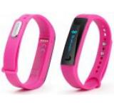 Bratara fitness Technaxx Active TX-38, Bluetooth 4.0, Ecran OLED, Facebook & Twitter, Compatibila iOS & Android (Roz)