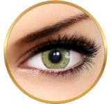 Solotica Solflex Natural Colors Mel - lentile de contact colorate verzi lunare - 30 purtari (2 lentile/cutie)