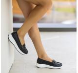 Pantofi Casual Belga Negri