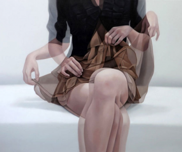 Picturi in ulei cu dubla expunere, de Ho Ryon Lee
