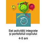Set activitati integrate si portofoliul copilului Timtim-Timy 4-5 ani
