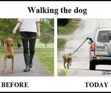 Comparatie funny: Trecut versus prezent