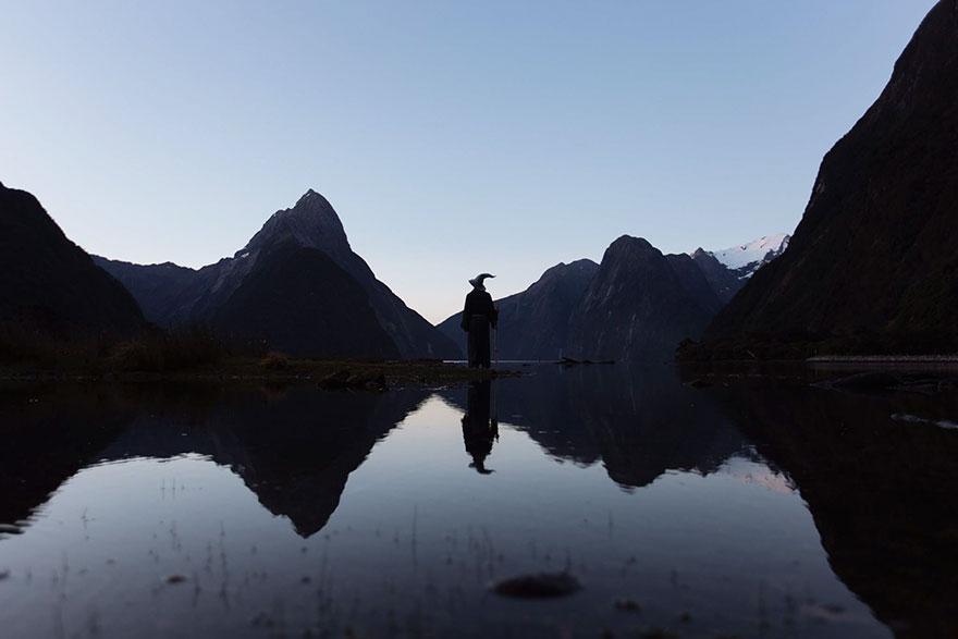 Calatoria lui Gandalf prin Noua Zeelanda, in poze epice - Poza 7