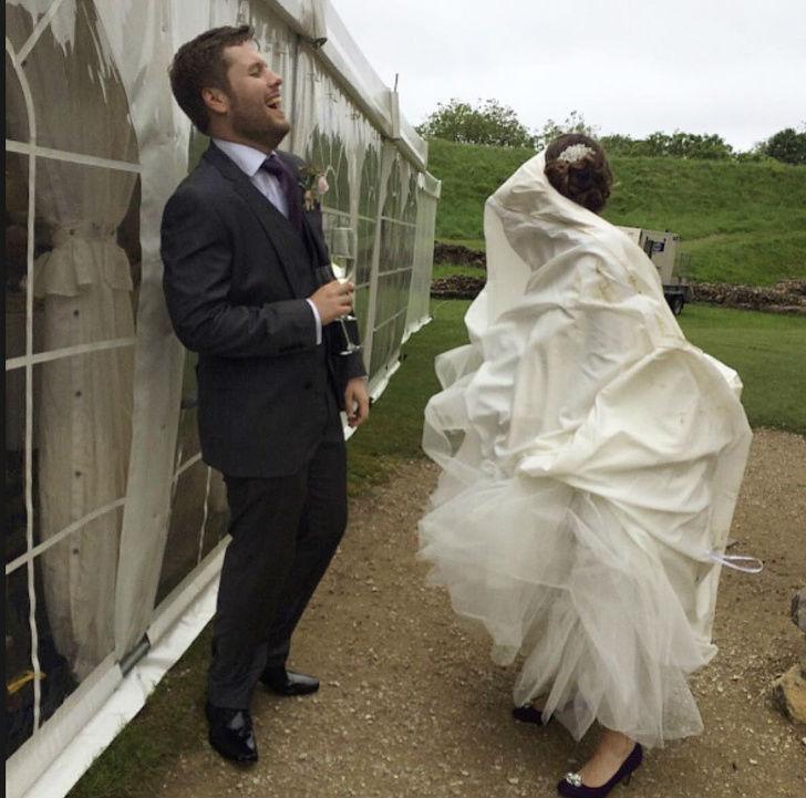 Cele mai haioase poze de nunta - Poza 5