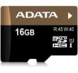 Card A-DATA microSDHC UHS-I U1 Premier Pro 16GB (Class 10)