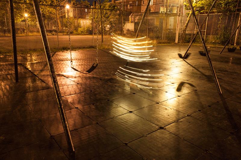 Un dans contemporan al luminii, in imagini animate - Poza 1