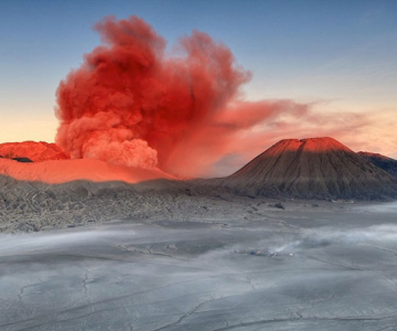 La muntele vrajit: vulcanul indonezian Bromo