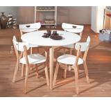 Set Masa Peppita White + 4 scaune
