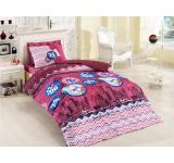 Lenjerie de pat copii Ranforce City V3 Red