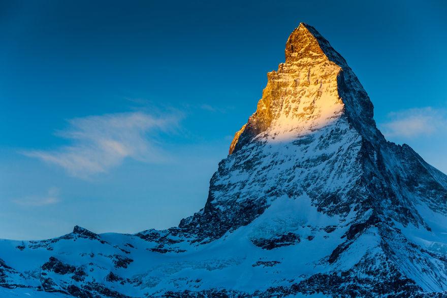 Maretia Alpilor pe timp de iarna - Poza 2