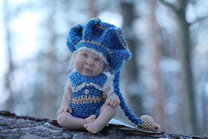 Papusi realiste superbe, de Elena Kirilenko - Poza 2