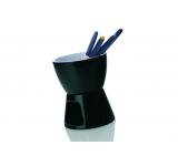 Recipient pentru Fondue White Basics Negru/Alb, Portelan