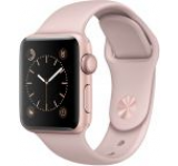 Smartwatch Apple Watch 2 Sport, Retina OLED Capacitive touchscreen 1.5inch, Bluetooth, Wi-Fi, Bratara Silicon 38mm, Carcasa Aluminiu, Rezistent la apa si praf (Roz/Roz)