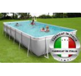 Piscina cu jacuzzi New Plast Kit Pool & Spa 400/100 h