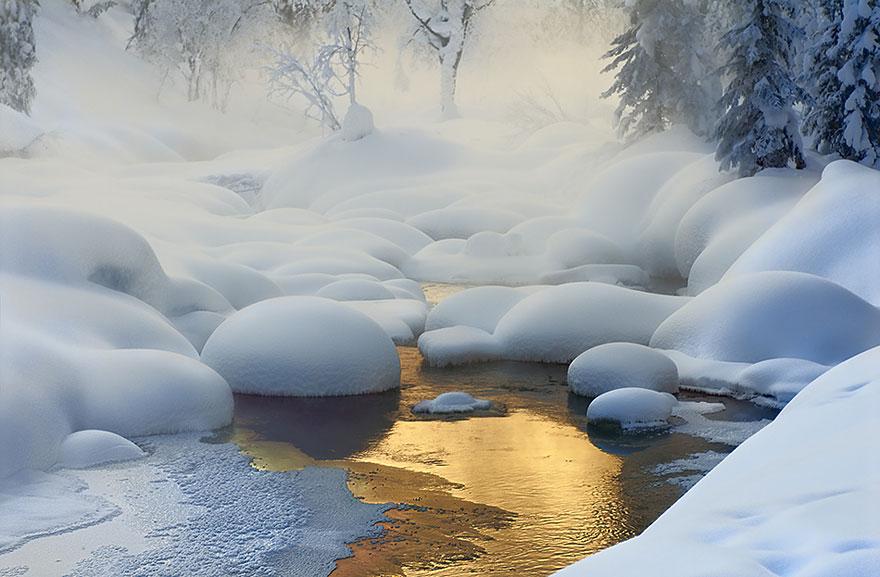 Cele mai frumoase peisaje de iarna - Poza 11