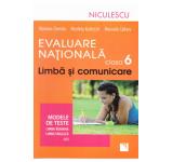 Limba si comunicare cls 6 Evaluare nationala modele de teste: romana+ engleza - Mariana Cheroiu