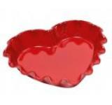 Tava ceramica in forma de inima Emile Henry Bakeware, 32cm (Rosie)