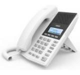 Telefon IP Fanvil X3, LCD 128x64, HD Voice, 2 linii SIP, PoE (Alb)