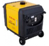 Generator Curent Electric Digital Sinemaster IG 4000, 4.3 kVA, Motor 1 cilindru, 4 timpi, racire cu lichid, Benzina, Autonomie 5 ore