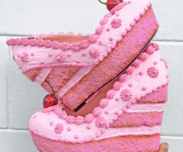 Pantofii cu aspect de prajituri, la mare moda in acest sezon