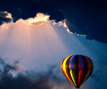 Din balon vad o lume buna