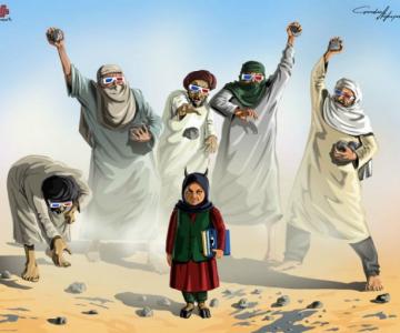 Nenorocirile lumii, in ilustratii satirice