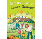 Katharina Wieker - Dictionar ilustrat Roman-German
