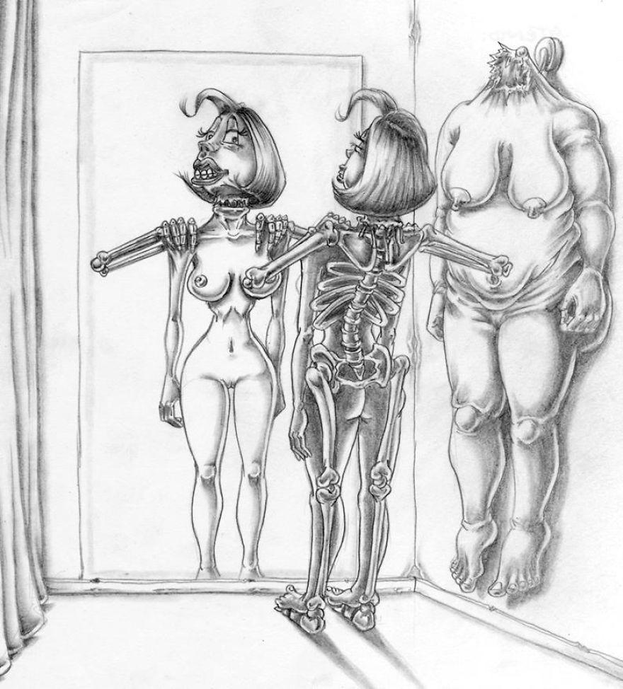 Problemele societatii actuale, in ilustratii rascolitor de sincere - Poza 29