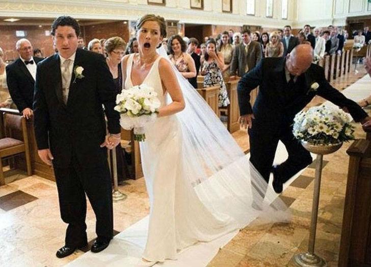 Cele mai haioase poze de nunta - Poza 8