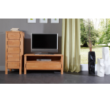 Comoda TV din lemn masiv de fag Koli TV 1000 natural