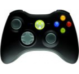 Gamepad Microsoft XBOX 360 Wireless Controller (Negru)