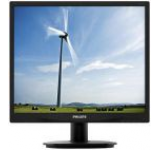 Monitor LED Philips 19inch 19S4QAB, DVI, VGA, 5 ms, Boxe (Negru)