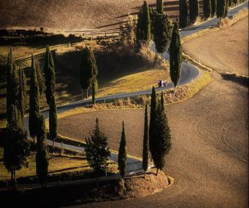 Excursie in Toscana, cu Andreas Bobanac