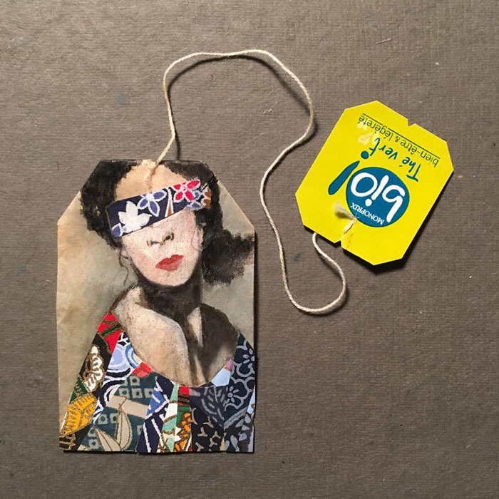 Pictura pe saculeti de ceai, de Ruby Silvious - Poza 2