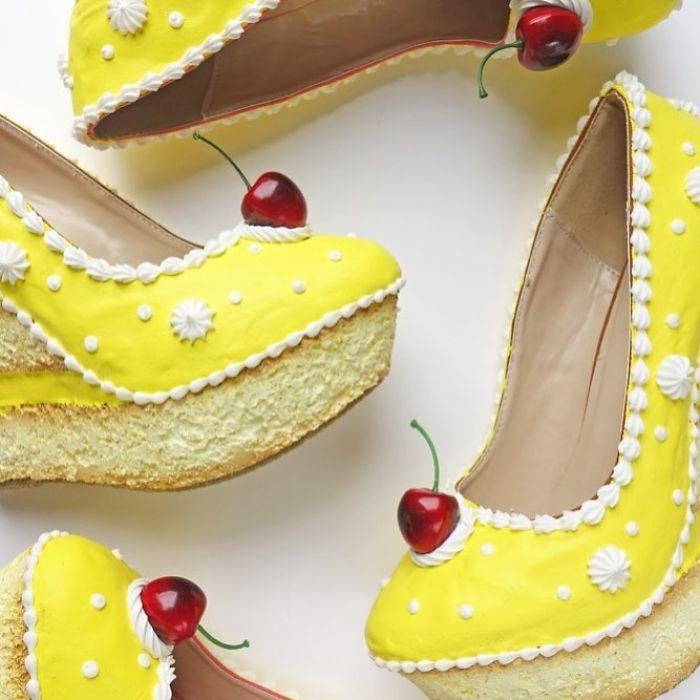 Pantofii cu aspect de prajituri, la mare moda in acest sezon - Poza 19