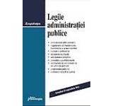 Legile administratiei publice. Actualizat 23 septembrie 2013