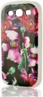 Protectie spate Procell P61 Wild Orchid PRSILIMP9300P61 pentru Samsung Galaxy S3/S3 Neo (Multicolor)