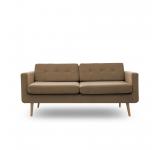 Canapea Fixa 3 locuri Sondero Light Brown/Natural