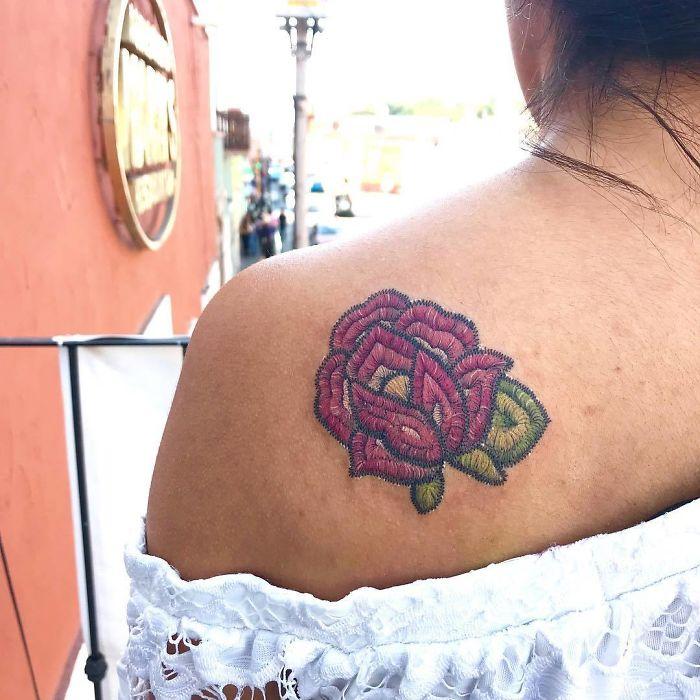 Broderie permanenta pe piele: Noua moda de a te tatua in 2019 - Poza 12