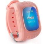 Smartwatch iUni D5, LCD Capacitive touchscreen 1.5inch, 2G, GPS, Bratara silicon, dedicat pentru copii (Roz)