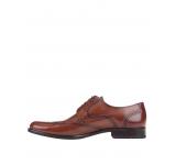 Pantofi oxford Lloyd Larin pentru bărbați maro din piele