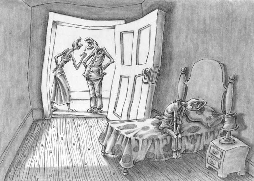 Problemele societatii actuale, in ilustratii rascolitor de sincere - Poza 4
