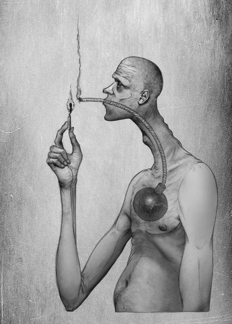 Problemele societatii actuale, in ilustratii rascolitor de sincere - Poza 5