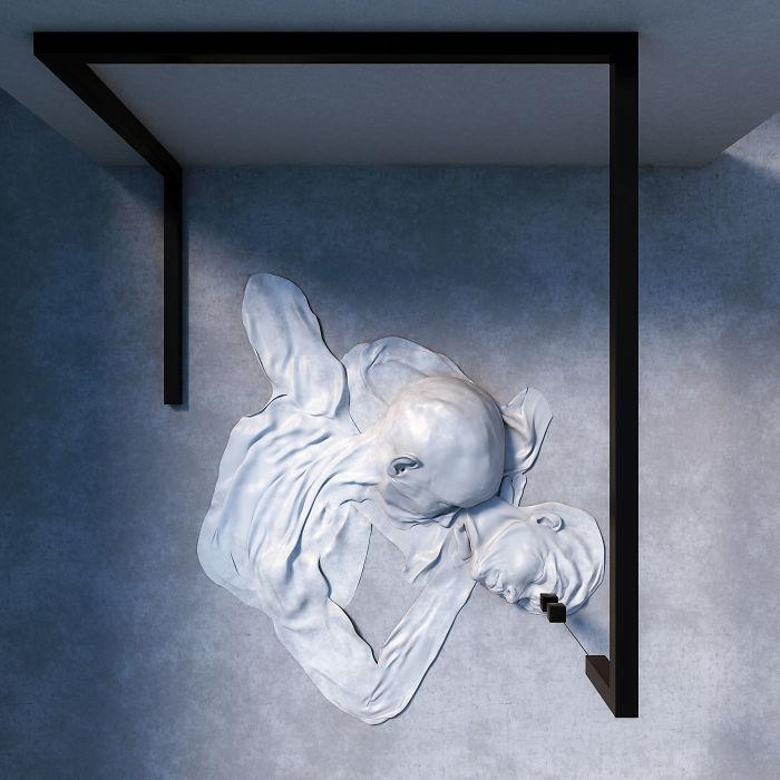 Natura duala a omului, in sculpturi 3D - Poza 3